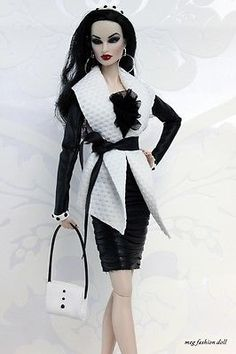 *Meg* outfit for  Fashion Royalty, /FR 12\'/FR2/  \'\'BUSINESS GLAM I\'\'