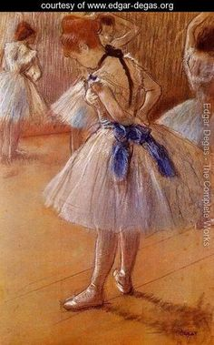 The Dance Studio - Edgar Degas - www.edgar-degas.org