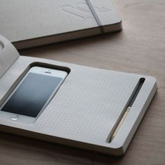 Tech-Integrated Stationary - The Phone + Book by KBme2 is Perfect for Tech-Obsessed Students (GALLERY)