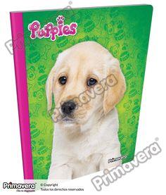 Cuaderno Cosido Infantil Puppies http://escolar.papelesprimavera.com/product/cuaderno-cosido-infantil-nina-primavera-5/
