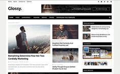 Glossy Blogger Templates