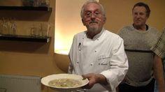 Vánoční rybí polévka michelinského šéfkuchaře Pospíšila Chef Jackets