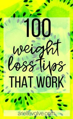 100 weight loss tips that will help you lose weight, reach your goals, and stay on track! Quick Weight Loss Tips, Losing Weight Tips, Fast Weight Loss, Fat Fast, Weight Loss Workout Plan, Weight Loss Goals, Weight Loss Motivation, Lose Weight In A Week, How To Lose Weight Fast