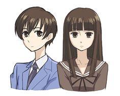 Haruhi Fujioka from Ouran High School Host Club Colégio Ouran Host Club, Host Club Anime, Moe Anime, Manga Anime, Anime Art, School Clubs, High School Host Club, Otaku, Haruhi Suzumiya