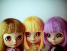 trio of cuties