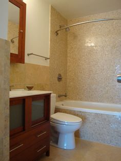 Sea Glass Tiles Tub Surround Glass Tile Bathtub Surround By Island - Florida bathroom designs