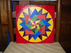 New Baby Barn Quilt by Deborah