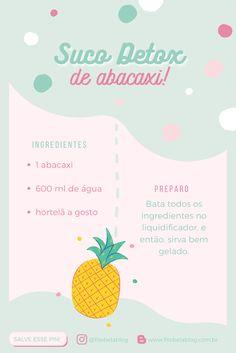 [#20 BEDA] Suco detox: Receitas que vão turbinar sua saúde! Dietas Detox, Digital Marketing, Bluetooth, Training, Posts, Boho, Shooter Recipes, Healthy Recipes, Strawberry Juice