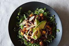 Quinoa and Mango Salad with Lemon-Ginger Dressing