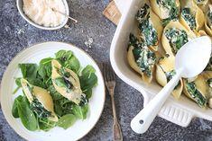 Pastaschelpen met spinazie en artisjok – 5 OR LESS