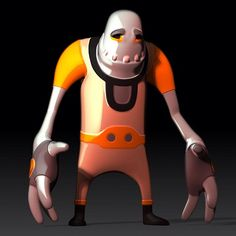 Clyde Concept | ZBrush
