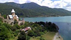Ananuri fortress in Georgia