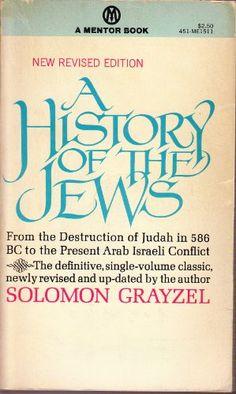 A History of the Jews by GRAYZEL SOLOMON http://www.amazon.com/dp/B000PGIDJE/ref=cm_sw_r_pi_dp_.vz2tb10RY885H78