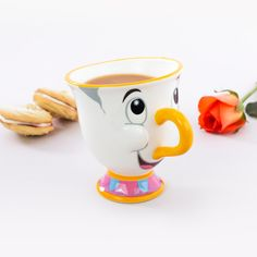 Whether you're a fan of hot drinks (most people) or a lover of Disney (everyone) ndash you need the Beauty and the Beast Chip Mug in your life. This perky lil'