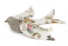 Wendy Addison Wallpaper Wings/Glitter Bird