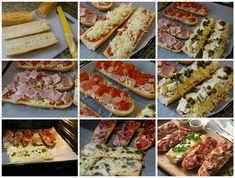 Preparación de los paninis variados