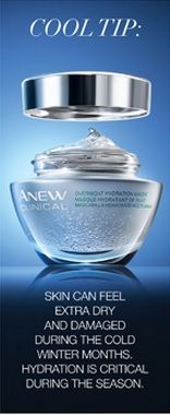 Anew Clinical Overnight Hydration Mask  Place your order at youravon.com/eperez85
