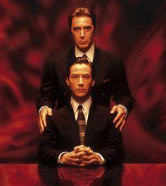 John Milton e Kevin Lomax (Al Pacino e Keanu Reeves,L'avvocato del diavolo - The Devil's Advocate di Taylor Hackford, 1997 )