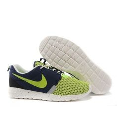 huge selection of 99fe1 b6bab Nike Roshe Run NM BR Noctilucent Army Blue Gamma Green Shoes Nike Roshe Run  NM Breeze