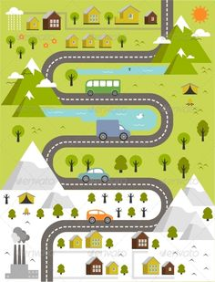 Find Cartoon Map Winter Summer Town stock images in HD and millions of other royalty-free stock photos, illustrations and vectors in the Shutterstock collection. Landscape Illustration, Flat Illustration, Stock Illustrations, Isometric Map, Board Game Design, Journey Mapping, Map Design, Grafik Design, Vector Art