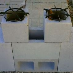 Dual burners! How to Build a Rocket Stove - DIY - MOTHER EARTH NEWS