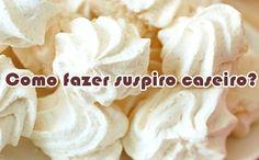 Como fazer suspiro caseiro #suspiro #doces #receitas