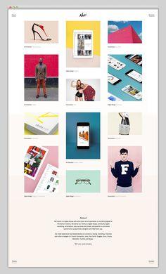 Most beautiful websites collection – www.mindsparklemag.com in Websites We Love