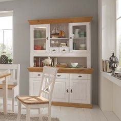 Buffet Bergen l Farmhouse Kitchen Decor, Kitchen Interior, Diy Kitchen Cabinets, Decorating Coffee Tables, Cuisines Design, Modern Kitchen Design, Beautiful Kitchens, Home Living Room, Home Kitchens
