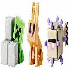 Minecraft Mini Figures 3 Packs