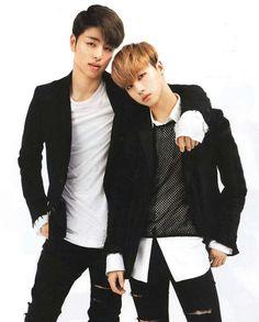 Koo Junhoe & Kim Jinhwan #iKON
