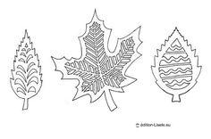 feuilles regalo