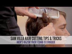 Men's Undercut Tutorial: Razor Over Comb Hair Cutting Technique | Sam Villa Blog