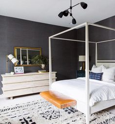 2017's Most Popular Colors for Interiors (According to Instagram) | Color is having a moment. When it comes to our favorite interiors, eye-catching pigments have always been winners. We scoured Instagram, one of our favorite sources of decor inspiration, high and low looking for the most loved and shared rooms and more importantly, what their color palettes seemed to be.