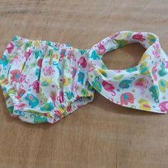kit tapa fralda e babador bandana | Artes da Dri: tudo para bebês e crianças | Elo7