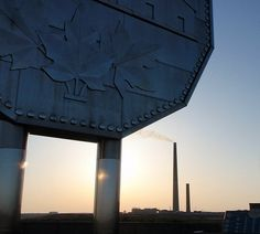 The Big Nickel and the Chimney Stack