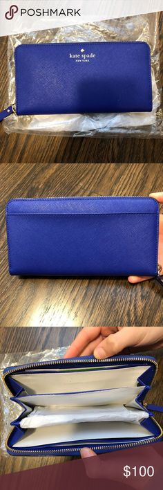 Kate Spade Cameron Street Lacy Wallet Never Used Kate Spade Wallet! kate spade Bags Wallets