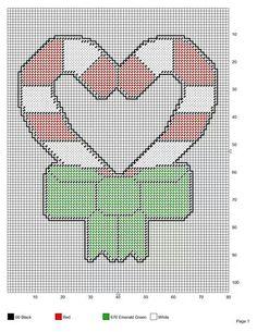 Peppermint heart