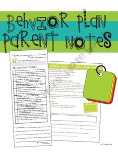 Updated format to help make recording and discussing behavior easier with kinders!