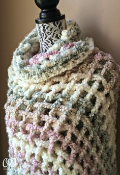 The Gentle Solace Prayer Shawl is a very easy project to crochet. Photo support has been included to assist you to make this soft and comforting wrap. Wrap someone in a soft and warm hug. via @OombawkaDesign