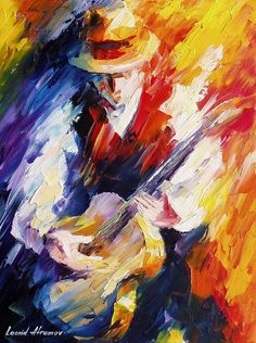 My Guitar2, Leonid Afremov