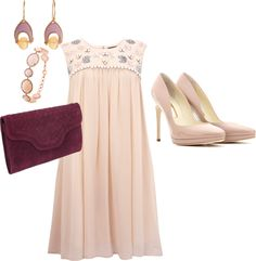 """Spring Wedding Guest"" by rozsarah on Polyvore"