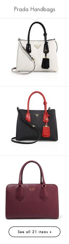 """Prada Handbags"" by bleubeauty1 on Polyvore featuring bags, handbags, tote bags, tote purses, white tote, crocodile tote, hand bags, purse tote, prada and crocodile purse"