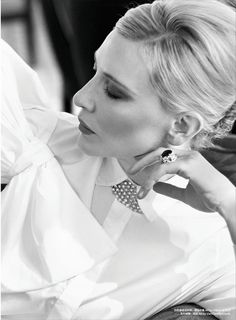 lesbeehive: Les Beehive – Cate Blanchett by Koray Birand for...