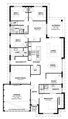ICYMI: Large 5 Bedroom House Plans Australia | Hiqra | Pinterest | Perth, House  Plans Australia And Basements