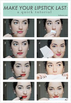 how to make lipstick stay on all day, makeup tutorial long lasting lipstick, tips for long lasting lipstick, NARS Heat Wave Lipstick, Makeup...