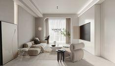 宅寂风 - 原创作品 - 站酷(ZCOOL) Japan Interior, Modern Interior, Interior Architecture, Tv Wall Furniture, Furniture Design, Clinic Interior Design, Home Theater Rooms, Home Room Design, Interior Walls