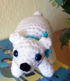 ♥ Eisbär Knut ♥ Amigurumi Handarbeit ♥ Deko Häkeltier ♥