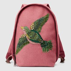 Gucci Women - Beaded Sky wool backpack - 404277KUP2N6483