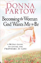 @Overstock - Every woman needs a little jump start in life. Donna Partow knows how to make it happen. In Becoming the Woman God Wants Me to Be, author Donna Partow shows women how to reenergize their lives in 90 days. She covers everything from faith and family to ...http://www.overstock.com/Books-Movies-Music-Games/Becoming-the-Woman-God-Wants-Me-to-Be/2915151/product.html?CID=214117 $11.08