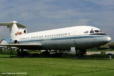 Hawker Siddeley HS121 Trident:  First Aircraft with a Tri-Jet design. (3 engines)